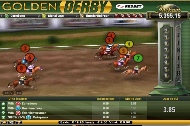 Golden Derby Kapplöpning
